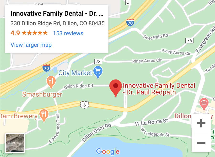 Dentist Dillon CO